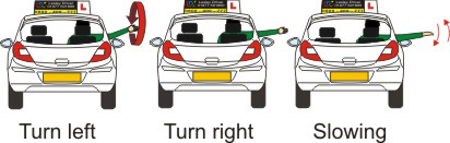 LD System Driving Lesson  Coordination - Car signals