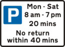 Parking times
