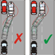 Parallel parking target position