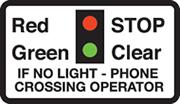 Miniature warning lights