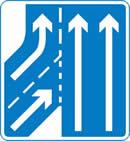 Main carriageway has priority