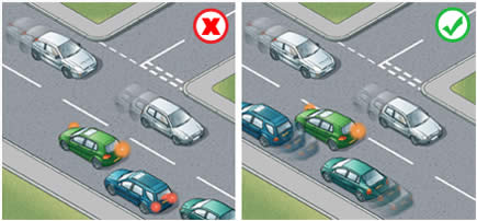 Highway Code Rule 180