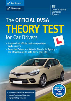 The Official DVSA Theory Test book for car drivers